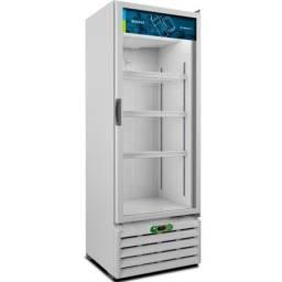Visa Cooler VB40R 220V Branco Controlador Digital 410L Metalfrio