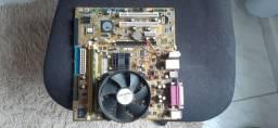 Kit placa mãe P5VD2-MX
