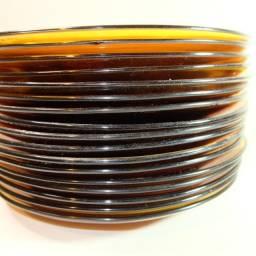17 pratos rasos Duralex âmbar usados