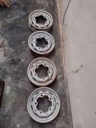 Rodas de cinco furos para Fusca