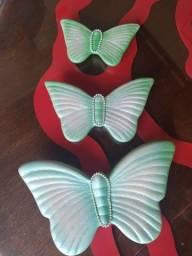 Trio de borboletas antigas