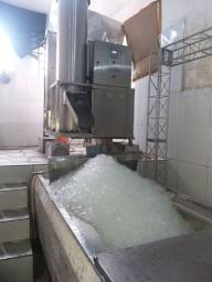 máquina  de gelo 2 toneladas 40 clientes 20 freezer  R$ 110 mil