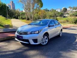 Corolla GLI Upper Aut Único Dono Placa I Baixa Km Zero - Civic Cruze Jetta Focus