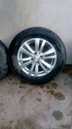 Rodão aro 15 pneu novos para vender rápido