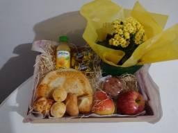 Cesta café da manhã/dia das mães