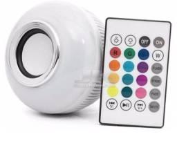 Lâmpada som Bluetooth leds coloridos