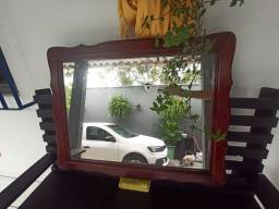 Espelho Madeira Maciça