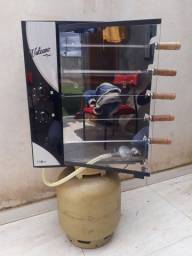 Churrasqueira a gás  e eletrica