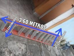 Escada de fibra de vidro 12 degraus