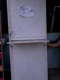 Porta de ferro 0,80x2,10