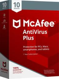 McAfee AntiVirus (1 dispositivo, 1 ano)