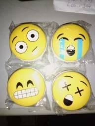 emoji porta objeto de metal