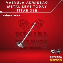 Válcula Admissão Metal Leve Today Titan XLR