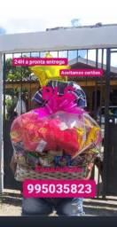 Kits com pelúcia RLC cestas Manaus entrega na hora