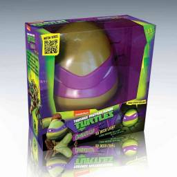 Luminária 3d Tartarugas Ninja - Rosto Do Donatello