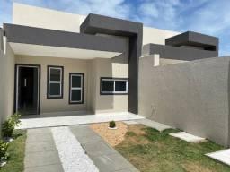 Casas Novas Planas, Fachada 3D, Ancuri, 87m2, 3 Quartos, 2 Vagas, Chuveirão