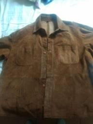 Camisa de couro