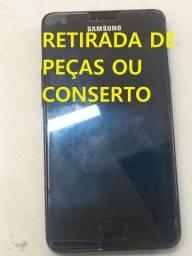 Título do anúncio:  Celular Samsung Galaxy S2 Gt-i9100 (defeito/retirada de peças)