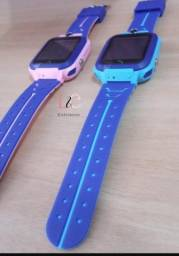 Relógio infantil smartwatch inteligente