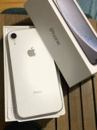 iPhone XR branco 64 giga top!! Aceito cartão/iPhones