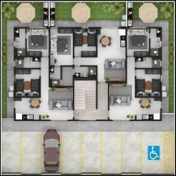 Apartamento à venda com 2 dormitórios em Bancários, João pessoa cod:008977