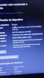Notebook 6GB RAM 4 NÚCLEO""