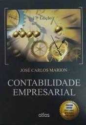 Livro Contabilidade Empresarial 17° edição José Carlos Marion