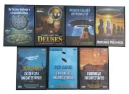 Vários DVDs Ufologia