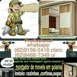 Montador de móveis profissional disponível