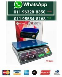 Balança Eletrônica Digital 40kg Visor Duplo Alta Precisão Completa (NOVA) ACEITA CARTÃO*