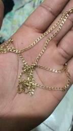 Cordao de ouro maciço