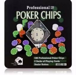 Poker Chips Professional 45 confira 98937-7552
