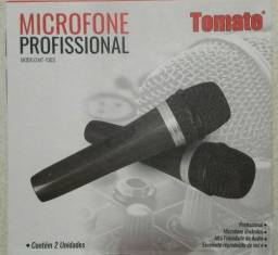 Microfone Profissional Tomate (2 Unidades) entrega grátis