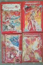 Coleção COMPLETA Magic Knight Rayearth