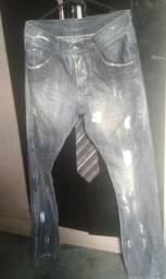 Calça Jeans Cicatriz