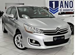 CITROEN C4 LOUNGE TENDANCE 2.0 FLEX 4P AUT 2014 - 2014