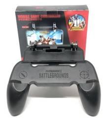 Controle Gamepad Joystick Com Gatilhos Jogo Tiro Free Fire Celular W10 Novo na Caixa