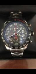 Relógio Tag Heuer Ayrton Senna a prova d'água