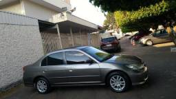 Honda Civic 05/06 R$14.990 completão ipva pago dut em branco * - 2005