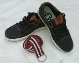 Tênis / calçado infantil menino n°33 (Aceito troca)
