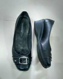 Sapato preto Azaléia 37