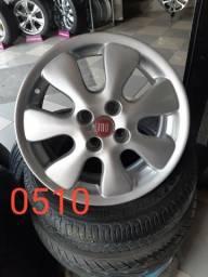 Rodas aro 15 Fiat /Punto/ Luxuria/ Marea /Palio/ Ideia/ Siena/ Strada/ entre outros carros
