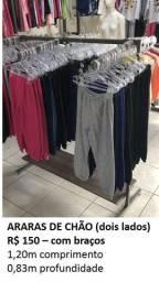 Arara de roupas 6 braços