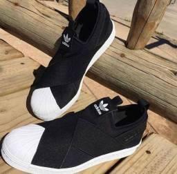 Adidas SLIP-ON preto (PROMOÇÃO)