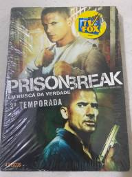 DVD Box da 3ª temporada de Prision Break. Novo e lacrado