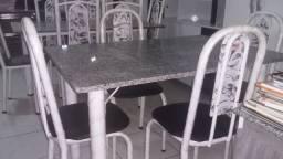 Mesa 04 Cadeira Tampo Granito