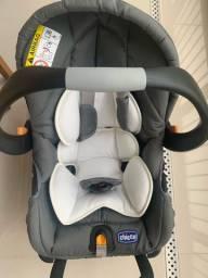 Bebê conforto Key Fit, 0 a 13 kg Preto - Chicco