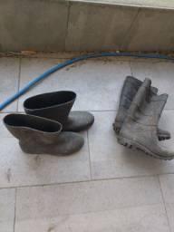 2 par de botas