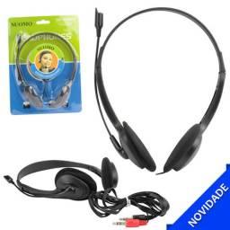 Fone de ouvido com microfone sm-900mv
