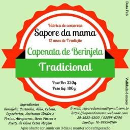 Caponata de Berinjela Tradicional Artesanal